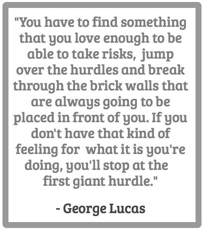 George Lucas and Risk-Taking