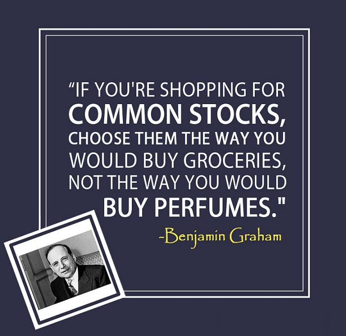 Shopping for common stocks (Ben Graham)