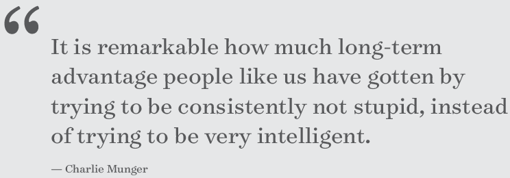 Charlie Munger on very intelligent people (;-)