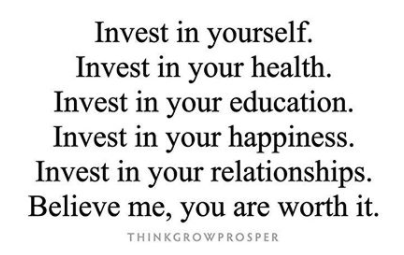 Invest in your health !