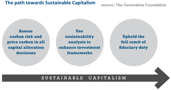 Path towards Sustainable Capitalism