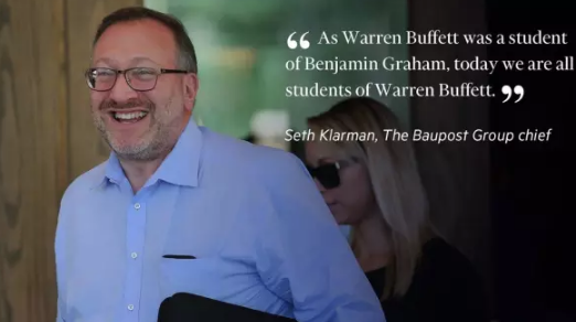 Seth Klarman (Financial Education, what else?)