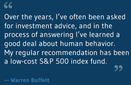 Advice (Warren Buffet)
